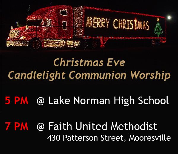 Christmas Eve Candlelight Communion Worship