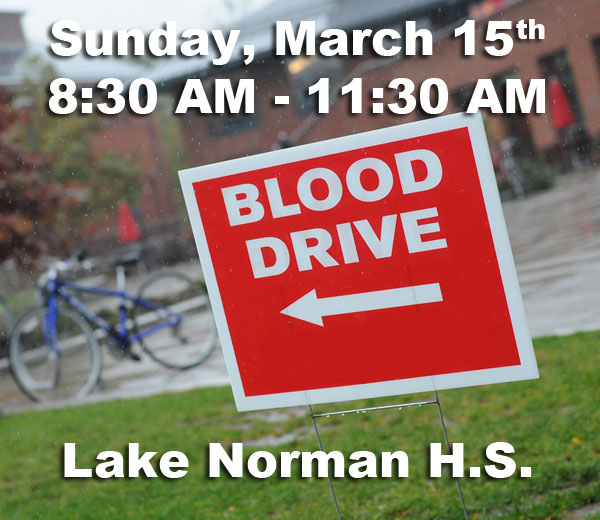 Blood Drive – March 15th