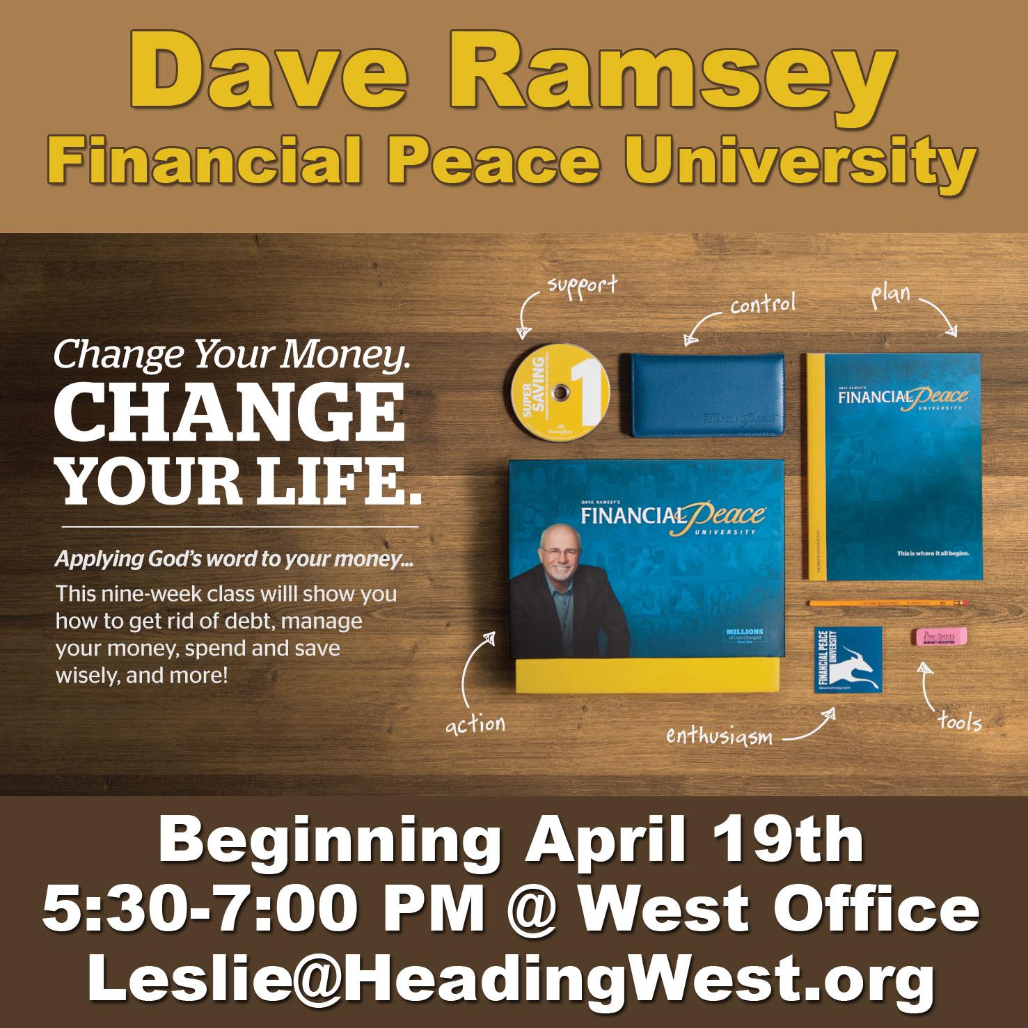 Dave Ramsey – Financial Peace University