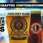free beer, conversation, god, spiritual, crafted conversations, group, friends, ghostface brewing, west, heading west, fresh expression