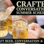 craft beer, beer, conversation, free community event, brewery, downtown Mooresville, community