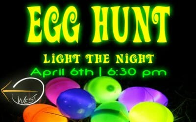 Easter Egg Hunt 2019 /// Glow-in -the-Dark