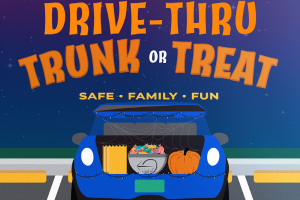 Drive-thru Trunk-or-Treat: Safe Halloween fun for the entire family