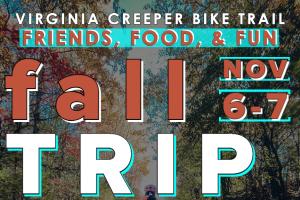 Virginia Creeper Bike Trip, November 6-7, 2021