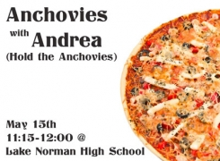 Anchovies with Andrea