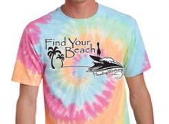 Birthday Tie-Dye T-Shirt Order Form