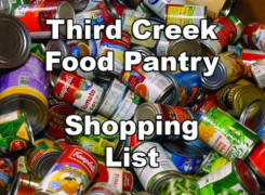 Third Creek Food Pantry Shopping List