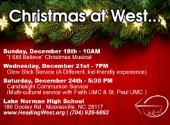 Christmas Services at West