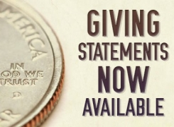 2016 Giving Statements Now Available
